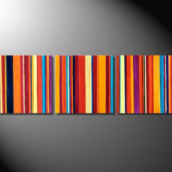 "Moderne Kunst Abstrakte Bilder Fiona Ritz ""Barcode III"""