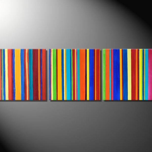 "Kunstbild ""Barcode I"" Abstrakte Bilder"