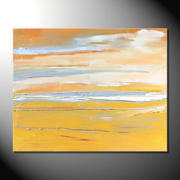 """Landscape II""-80 x 100 cm-Strukturbild"