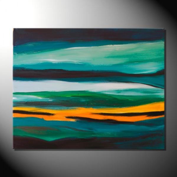 """Landscape I""-80 x 100 cm-Strukturbild"