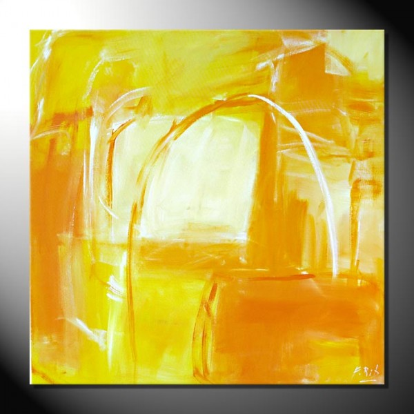 "Moderne Kunst Abstrakte Bilder Fiona Ritz ""Sun"""