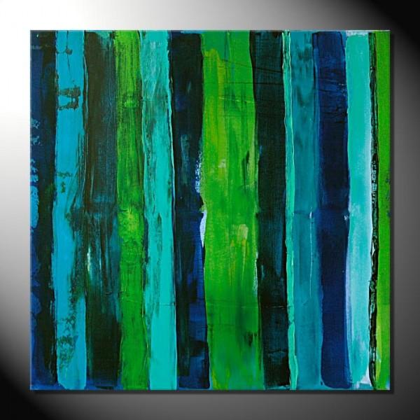 """""""Jungle"""" 80 x 80-Abstrakte Bilder"""