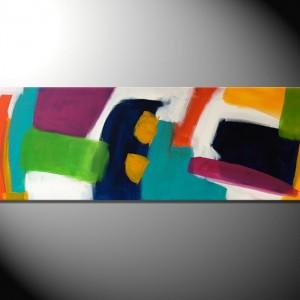 """""""Kaleidoskop 3""""-40 x 120 cm"""