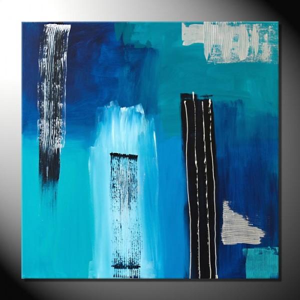 """""""Satin"""" 80 x 80-Abstrakte Bilder"""