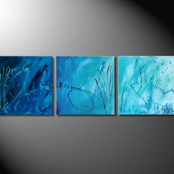 """""""Seaside""""-Mehrteiler-Abstrakte Blder"""