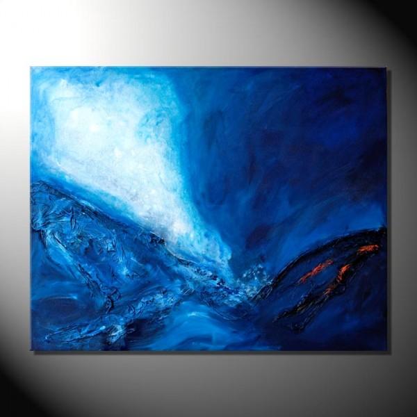 """""""Moonlight""""-60 x 80 cm-Strukturbilder"""