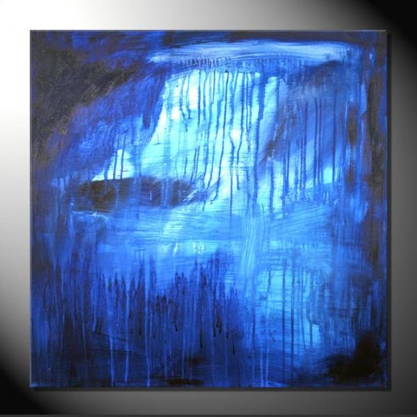 """""""Ocean"""" 80 x 80 cm Abstrakte Bilder"""