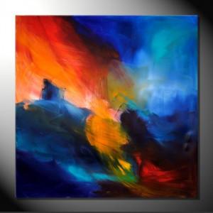 """""""Sensations"""" 80 x 80 - 100 x 100 cm-Abstrakte Bilder"""