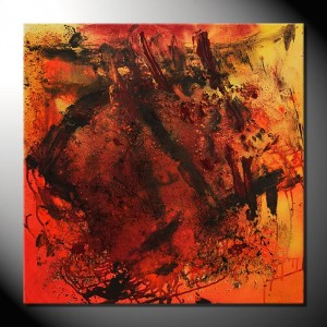"""Rocks""-Strukturbild-80 x 80 cm"