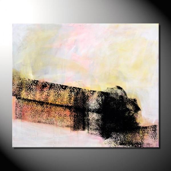 """Kunstbild """"Net"""" Abstrakte Bilder 100 x 120 cm"""
