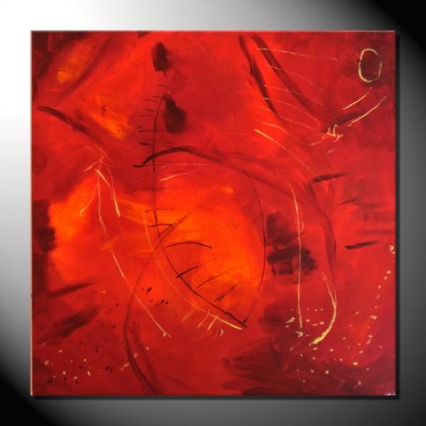 """""""Emotion"""" 80 x 80 cm-Abstrakte Bilder"""
