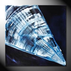 """Moon""-80  x 80 cm-Abstrakte Blder"